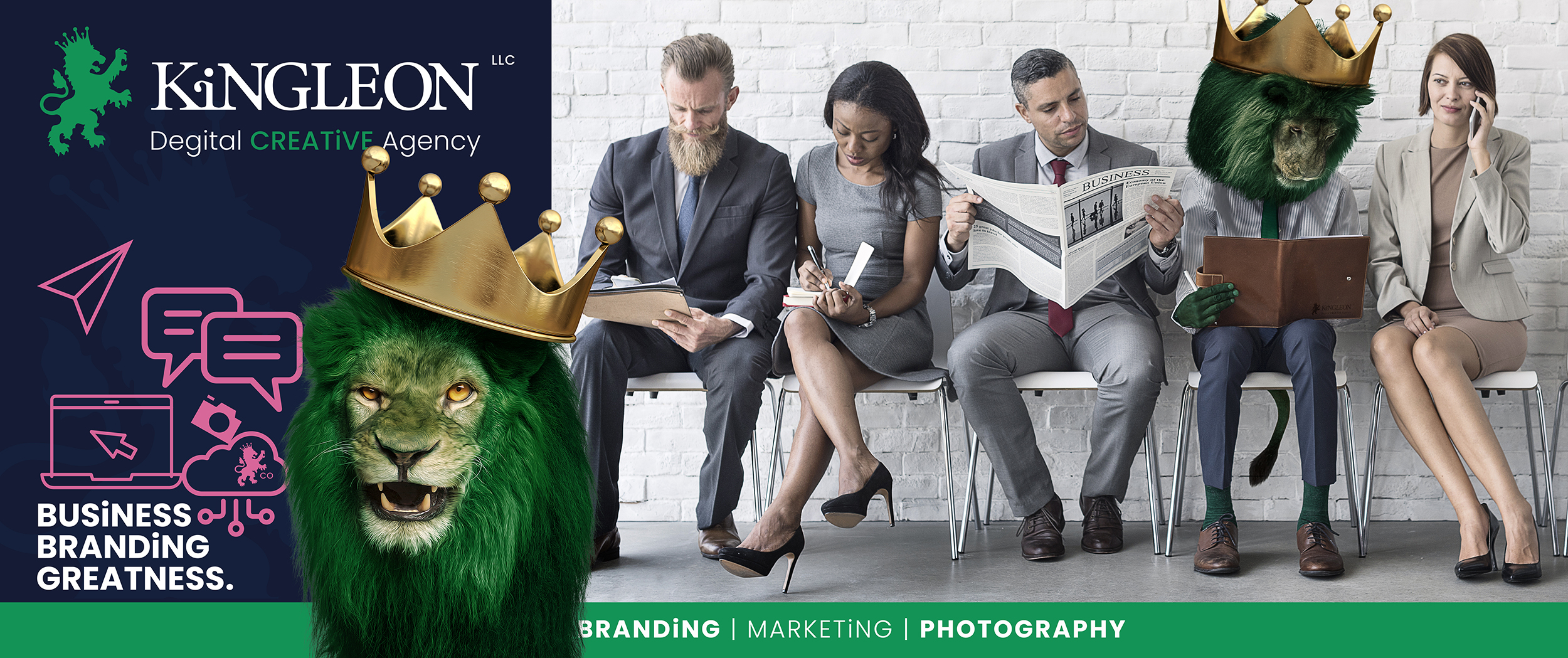 kingleon-digital-creative-agency-lion-business-Google